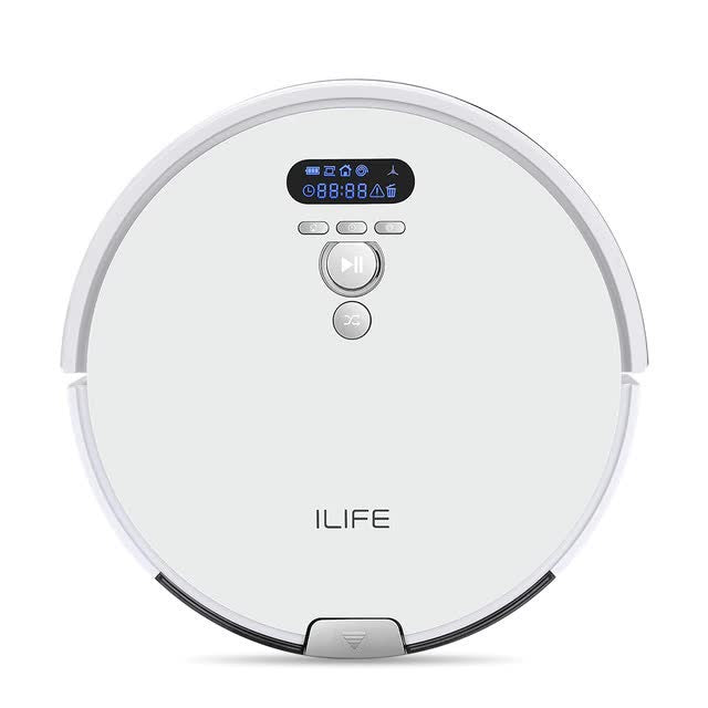 V8 Plus Robot Vacuum Cleaner Sweep and Wet Mop with Navigation and Planned Cleaning Scheduler