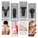 High Frequency Electric Massage Gun for Muscle and Body Relaxation