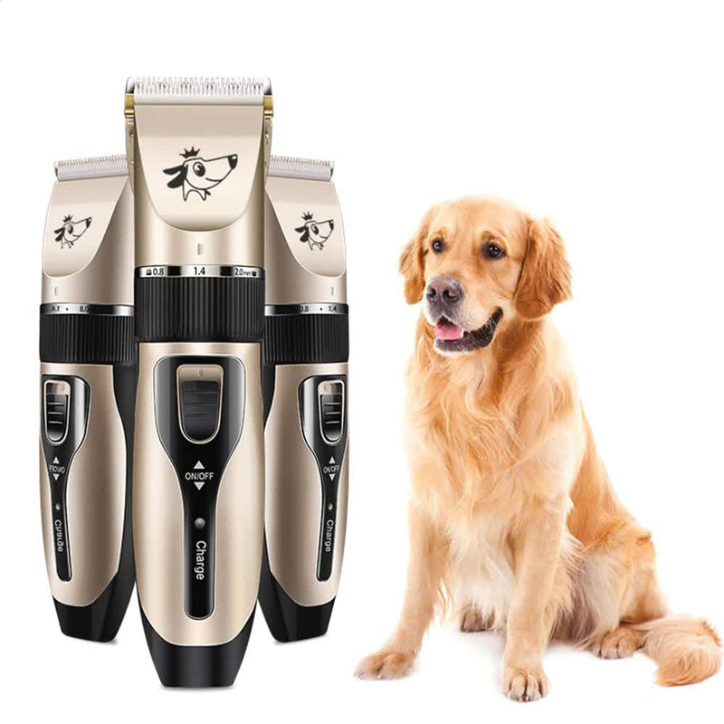 Cordless Electric Pet Grooming Clipper and Trimming Kit