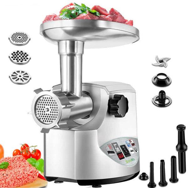 Heavy Duty 3000W Powerful Electric Meat Mincer