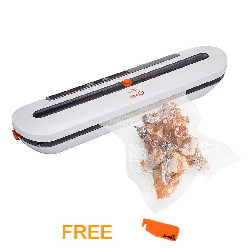 Vacuum Food Sealer 220V Automatic Commercial Household Food Vacuum Sealer Packaging Machine with 10 Bags