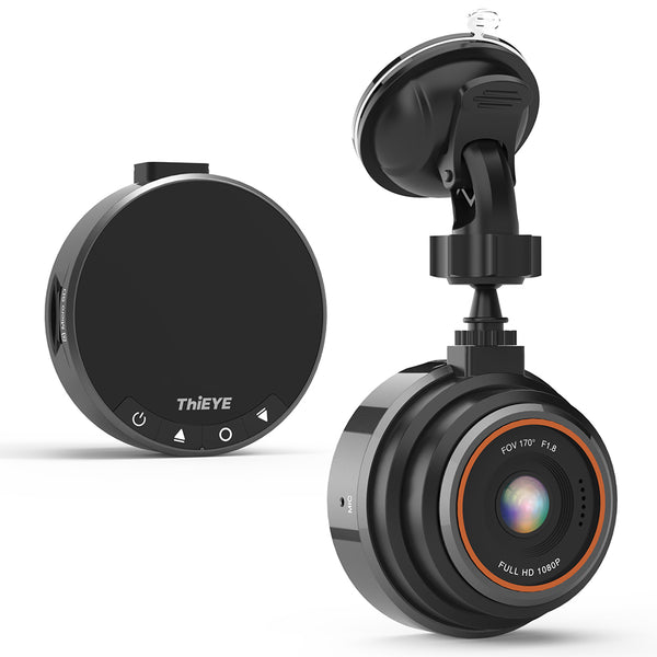 Auto Video Dash Cam - 1080P 170º Wide Angle HD with G-Sensor Parking Mode and 32G Card