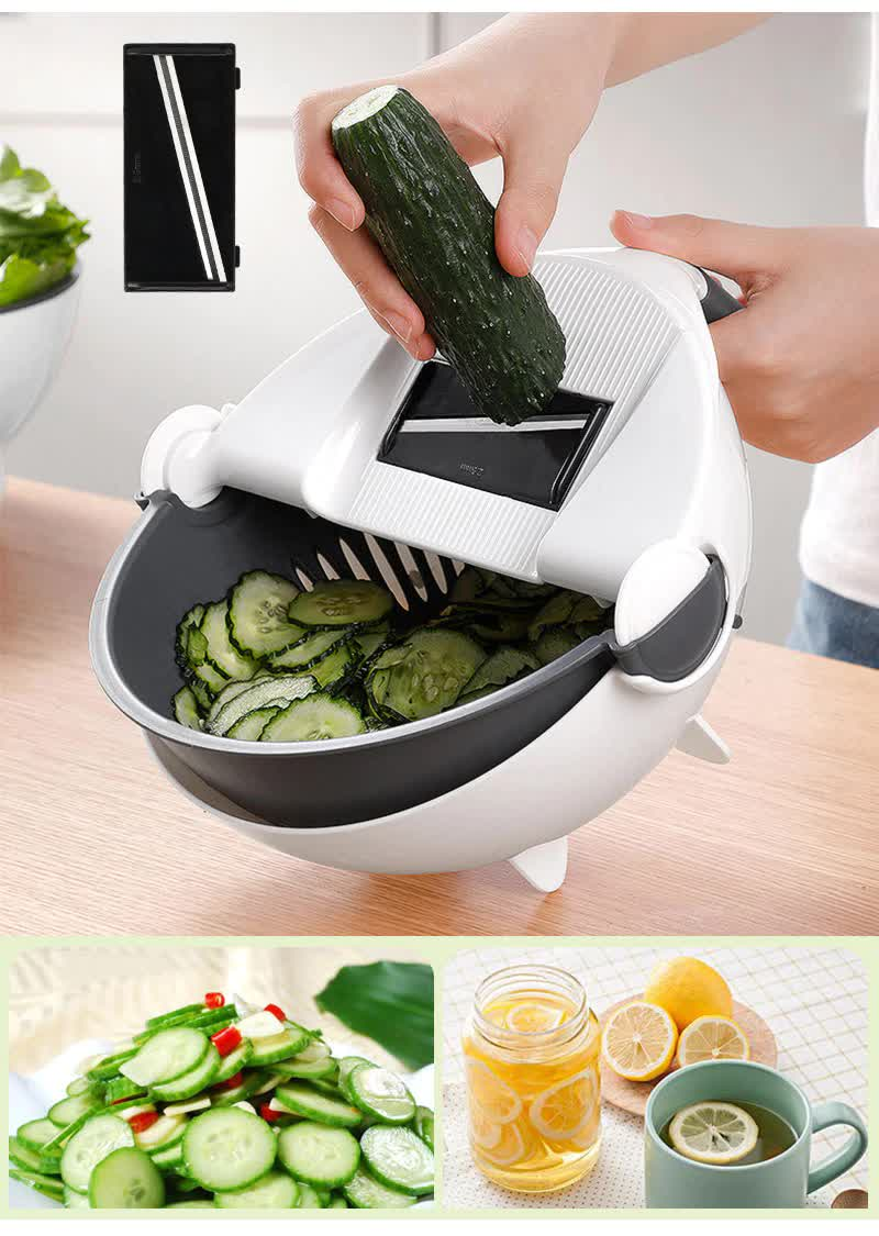 9-in-1 Multifunctional Vegetable Slicer