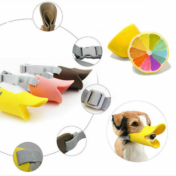 Dog Muzzle Anti-Bite Masks for Pets - Pack of 2
