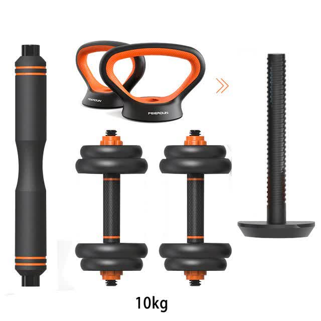Weights Barbell - 4 in 1 Multifunctional Home Gym Equipments