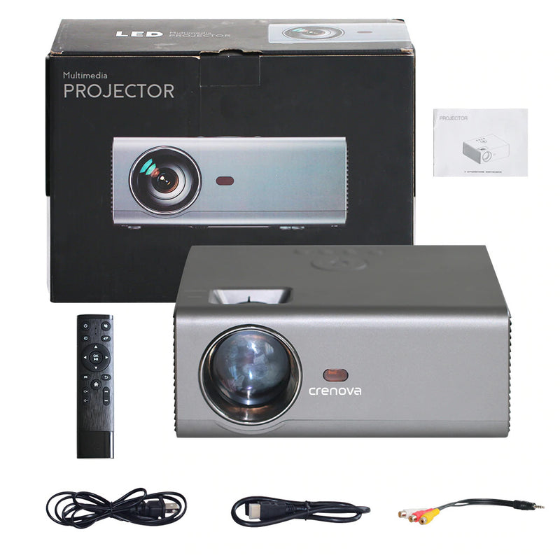 LED WiFi 1280 x 720P HD Home Cinema Android Projector