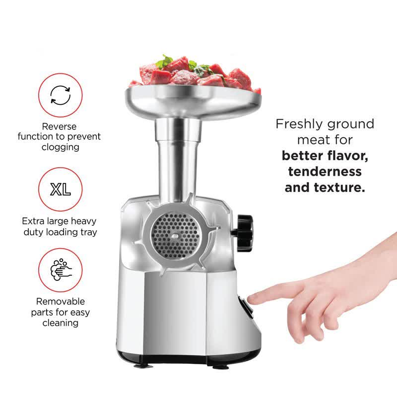 Heavy Duty 3000W Powerful Electric Meat Grinder