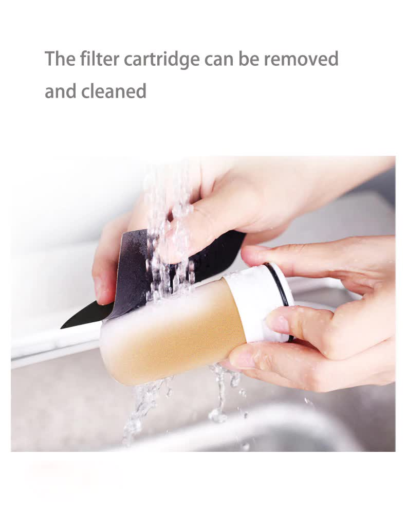 Ceramic Tap Water Purifier with 4 Free Cartridges