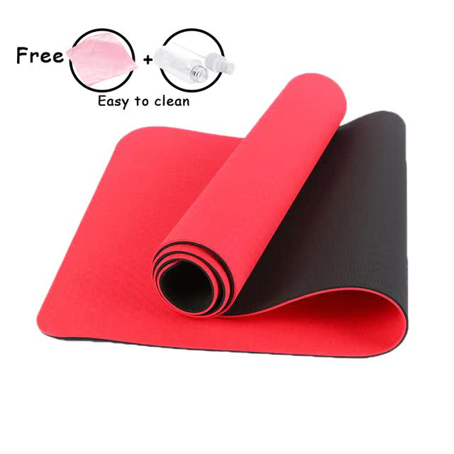 Luxury Double Sided Eco-Friendly Yoga Fitness Mat