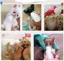 Pet Feeding Bottle with Brush and Nipples - 7 pcs/set (2 Sets)