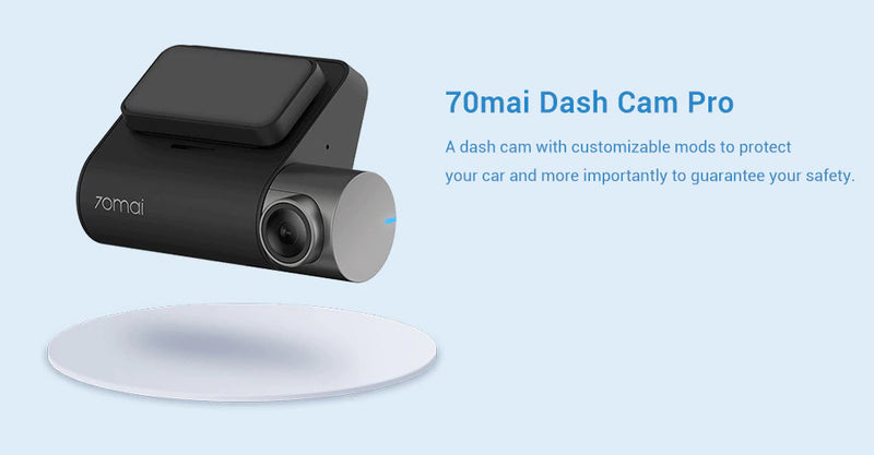 In-Car Dashboard Camera with DVR Voice Control and G-Sensor Parking System