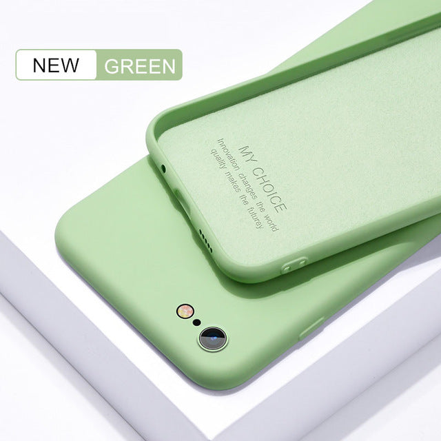 Thin Luxury Silicon Gel iPhone Case Cover