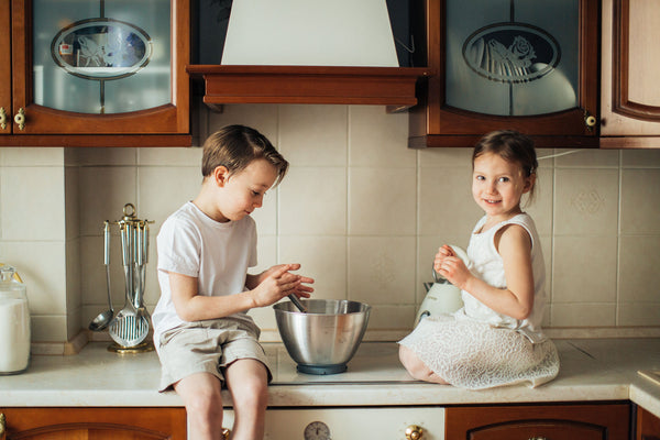 Kids In The Kitchen: So Many Benefits!