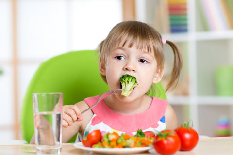 Parents' role in healthy eating