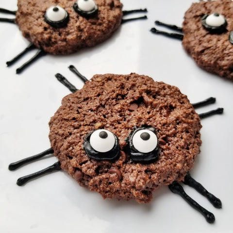 Spook-tacular Halloween Spider Cookies