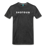Shotgun Graphic Tee - charcoal gray