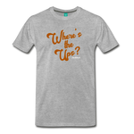 Where's The Ups? - Graphic Tee - heather gray