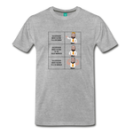 Story of a Salesperson Meme - Graphic Tee - heather gray