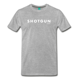 Shotgun Graphic Tee - heather gray