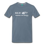 Obsessive Car Disorder Graphic Tee - steel blue