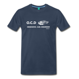 Obsessive Car Disorder Graphic Tee - navy
