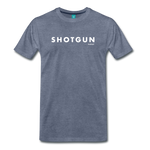Shotgun Graphic Tee - heather blue