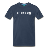 Shotgun Graphic Tee - navy