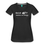 Obsessive Car Disorder - Woman's Graphic Tee - black