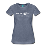 Obsessive Car Disorder - Woman's Graphic Tee - heather blue