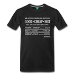 Three Kinds of Services - Graphic Tee - black