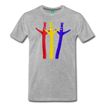 Inflatable Friends - Graphic Tee - heather gray