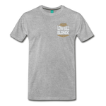 Low Ball Blonde - Graphic Tee - heather gray