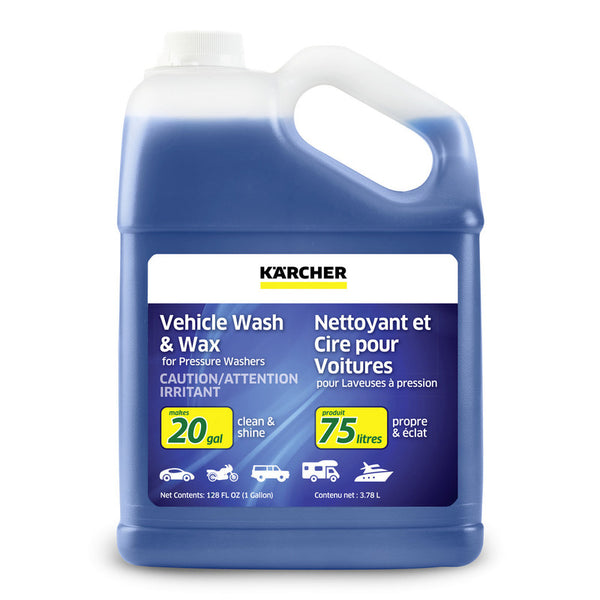 Kärcher 20X Vehicle Wash & Wax Detergent