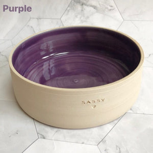Swirly Cat Bowl *MTO*