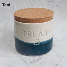 Load image into Gallery viewer, Personalised Two-Tone Treat Jar *MTO*