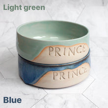 Load image into Gallery viewer, Personalised Glazy Pet Bowl *MTO*