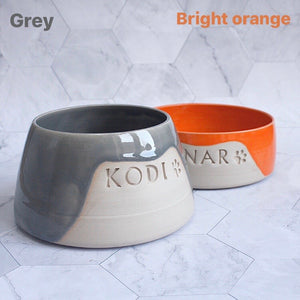 Personalised Glazy Pet Bowl *MTO*