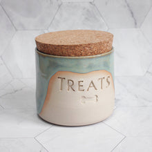 Load image into Gallery viewer, Personalised Glazy Treat Jar *MTO*