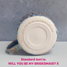 Load image into Gallery viewer, Mermaid Bridesmaid Mug