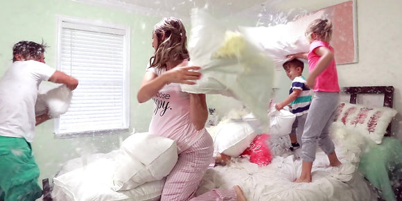 International Pillow Fight Day!