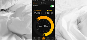 Start a new sleep schedule with the iPhone bedtime feature