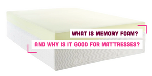 What Is Memory Foam? And Why Is It Good For Mattresses?
