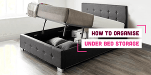 How To Organise Under Bed Storage for a Tranquil Bedroom