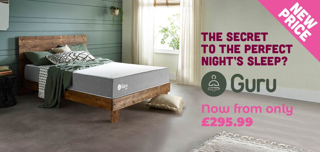 Guru memory foam mattress offer