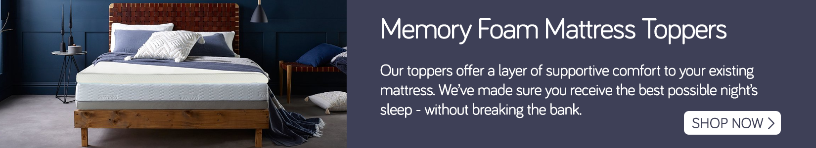 Memory Foam Mattress Toppers - Shop Now