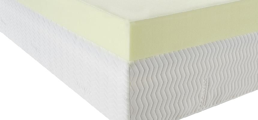 Essentials 10cm 40kg Memory Foam Mattress Topper - Memory Foam Warehouse