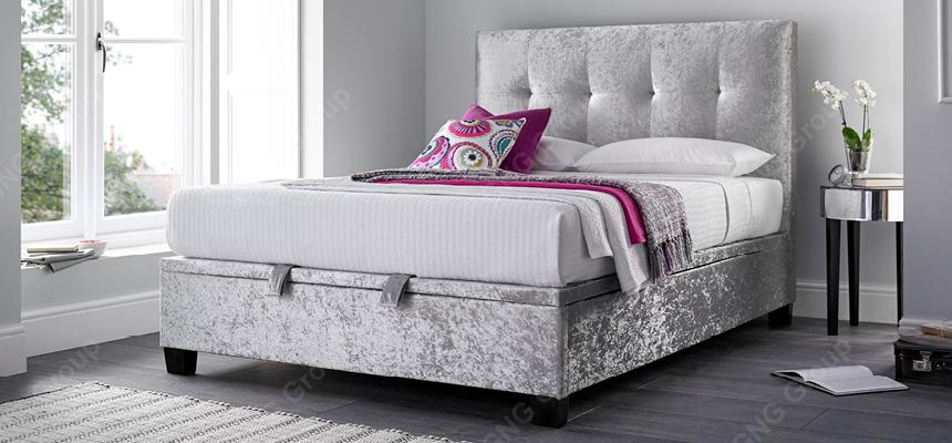 Kaydian Walkworth Ottoman Bed Frame - Memory Foam Warehouse