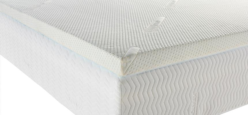 Zen Kooltop 5cm 50kg Memory Foam Mattress Topper - Memory Foam Warehouse