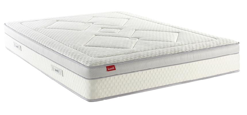 Komfi Harmony 1500 Pocket Sprung Memory Foam Mattress - Memory Foam Warehouse