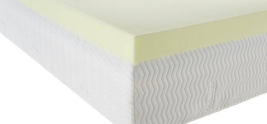 Essentials 7.5cm 40kg Memory Foam Mattress Topper - Memory Foam Warehouse